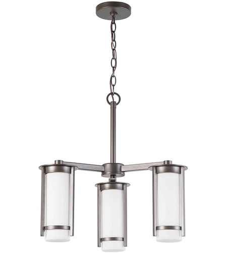Eglo 203115A Truxton 3 Light 22 inch Graphite Chandelier Ceiling Light photo