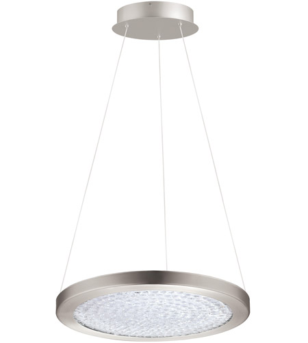 Eglo 203446A Arezzo 3 LED 15 inch Matte Nickel LED Pendant Ceiling Light photo