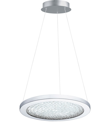 Eglo 203451A Arezzo 3 LED 15 inch Chrome LED Pendant Ceiling Light photo
