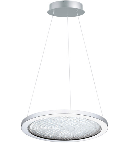 Eglo 203453A Arezzo 3 LED 18 inch Chrome LED Pendant Ceiling Light photo