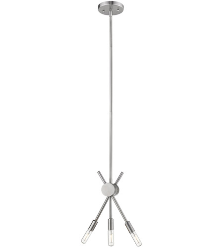 Eglo 203479A Willsboro 3 Light 5 inch Polished Nickel Mini Pendant Ceiling Light photo thumbnail