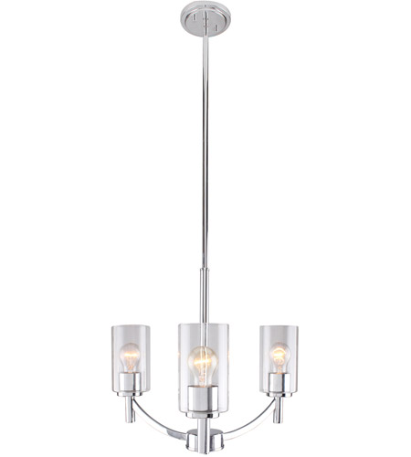 Eglo 203737A Devora 3 Light 19 inch Chrome Chandelier Ceiling Light photo
