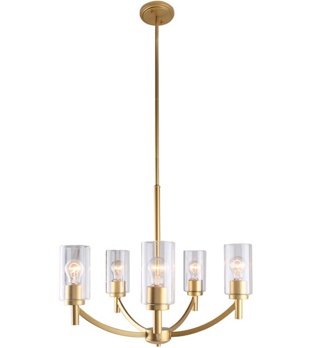 Eglo 203741A Devora 5 Light 24 inch Antique Gold Chandelier Ceiling Light photo