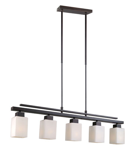 Eglo Lighting Violetta 5 Light Trestle Hanging Light in Oil Rubbed Bronze 20448A photo