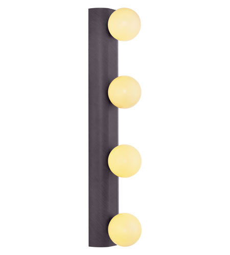 Eglo Neso 4 Light Wall/Ceiling Light in Antique Brown 20717A photo