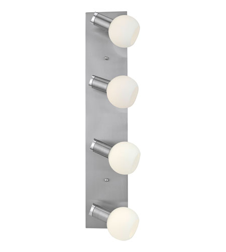 Eglo Sesto 4 Light Wall/Ceiling Light in Matte Nickel 20718A photo