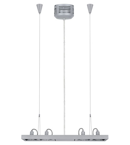 Eglo 20919A Vectus 4 Light 5 inch Silver Pendant Ceiling Light photo