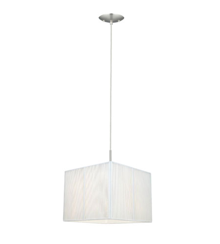 Eglo Tosca 1 Light Pendant in Matte Nickel 21958A photo