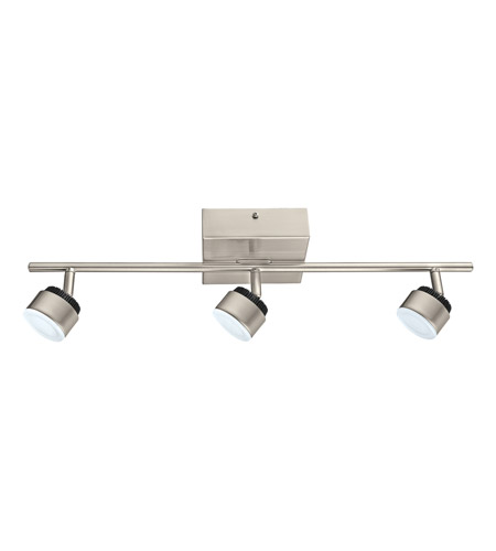 Eglo 31483A Armento 3 Light 120V Matte Nickel Track Light Ceiling Light photo