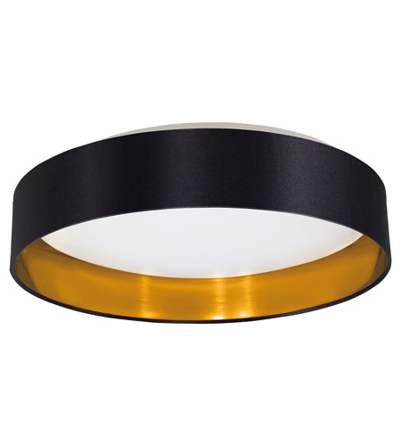 gold flush mount light foyer light eglo 31622a maserlo led 16 inch black and gold flush mount ceiling light photo