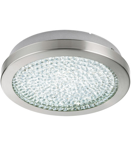 Eglo 32046A Arezzo 2 LED 11 inch Matte Nickel Flush Mount Ceiling Light photo