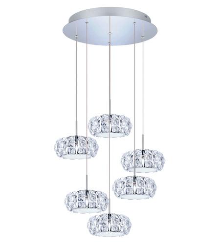 Eglo 39008a corliano led 19 inch chrome multi light pendant ceiling eglo 39008a corliano led 19 inch chrome multi light pendant ceiling light aloadofball Images