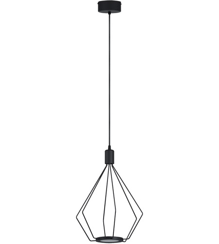 Eglo 39321A Cados LED 13 inch Black Pendant Ceiling Light photo
