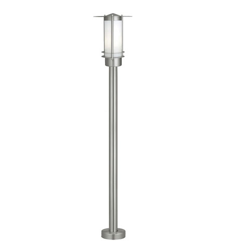 Eglo Malmo 1 Light Outdoor Post Light in Stainless Steel 81826A photo