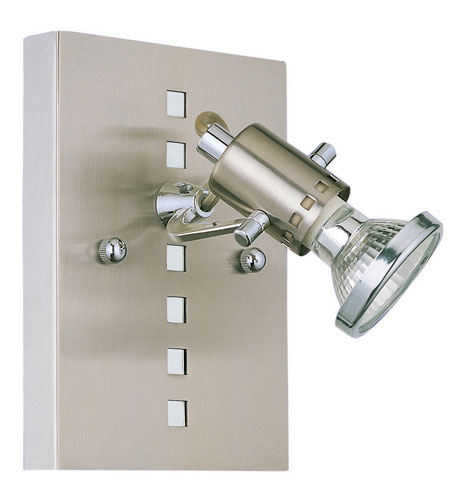 Eglo Lighting Fizz 1 Light Wall Spot in Matte Nickel & Chrome 82242A photo