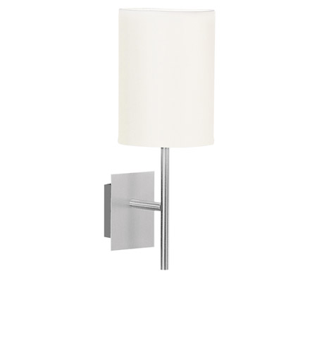 Eglo Sendo 1 Light Wall Light in Aluminum 82809A photo