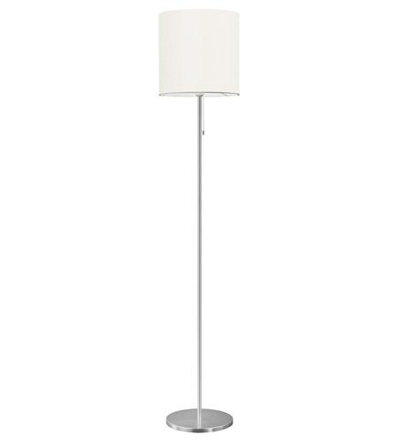Eglo 82813a sendo 60 inch 100 watt aluminum floor lamp portable light aloadofball Image collections