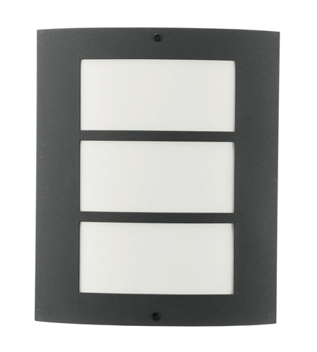 Eglo 83217A City 1 Light 11 inch Antracite Outdoor Wall Light photo