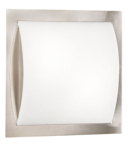 Eglo Arcnickel frosted/chrome Flush Mount 83396A photo