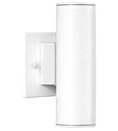 Eglo 84004a riga 2 light 7 inch white outdoor wall light aloadofball Images