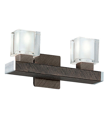 Eglo Tenno 2 Light Wall Sconce in Antique Brown 85135A photo