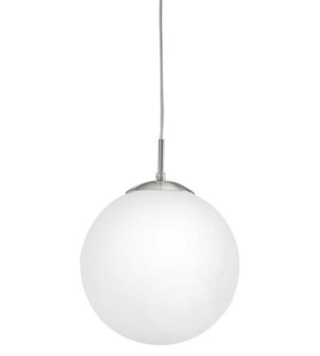 Eglo 85262a rondo 1 light 10 inch matte nickel pendant ceiling light aloadofball Choice Image