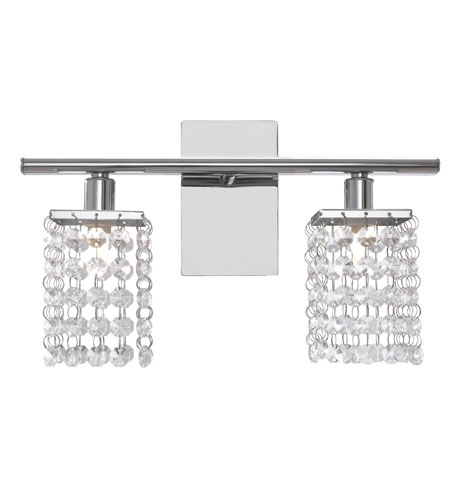 Eglo Lighting Pyton 2 Light Wall Light in Chrome 85332A photo