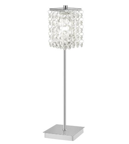 Eglo Lighting Pyton 1 Light Table Lamp in Chrome 85333A photo
