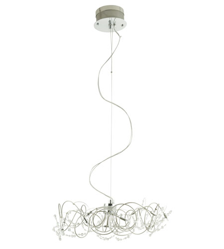 Eglo Figaro 10 Light Hanging Light in Chrome 86904A photo