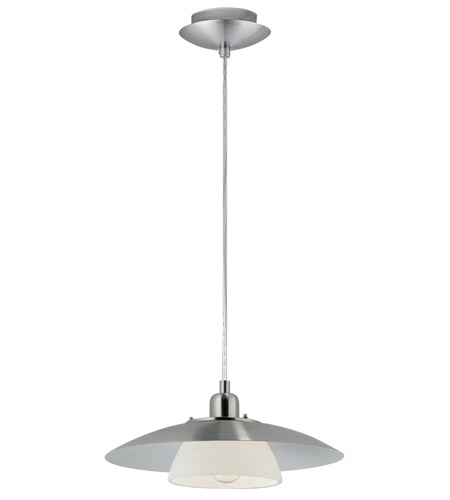 Eglo 87058A Brenda 1 Light 14 inch Matte Nickel Pendant Ceiling Light photo
