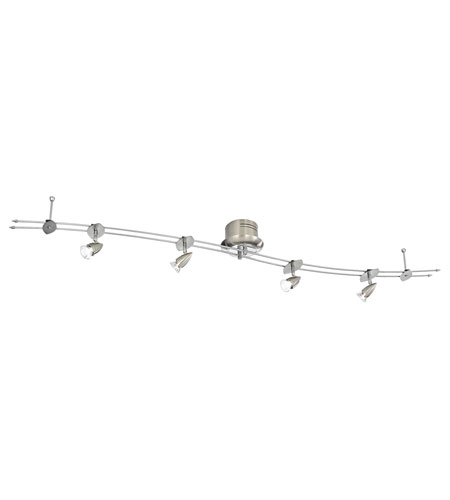 Eglo Drive 4 Light Track Light in Matte Nickel 87602A photo