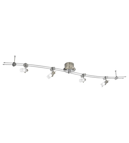 Eglo Drive 4 Light Track Light in Matte Nickel 87606A photo