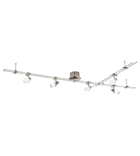 Eglo Drive 5 Light Track Light in Matte Nickel 87607A photo