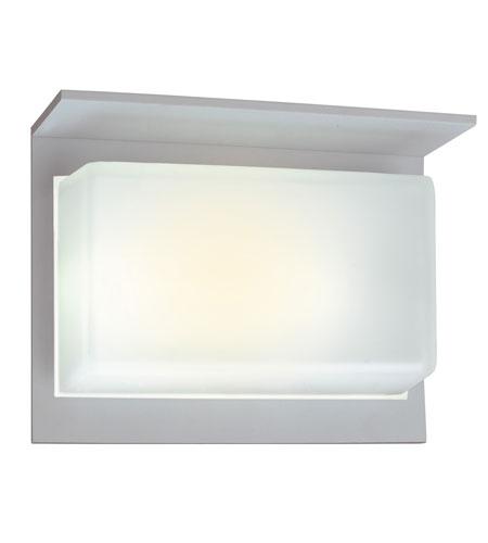 Eglo Talia 1 1 Light Outdoor Wall Light in Silver 88038A photo