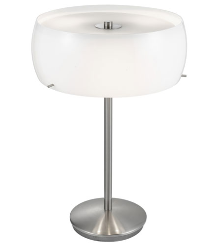 Eglo 88186A Camaro 20 Inch 40 Watt Matte Nickel Table Lamp Portable Light