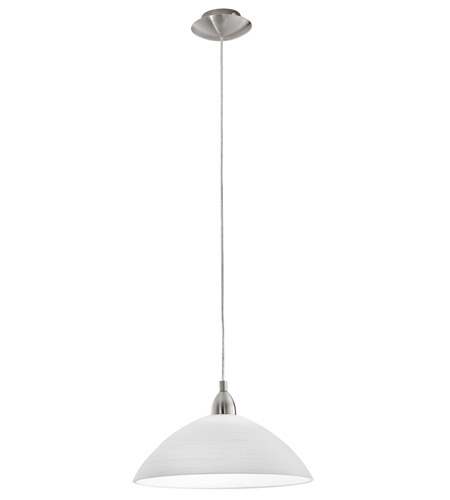 Eglo 88491A Lord 1 Light 14 inch Matte Nickel Pendant Ceiling Light photo