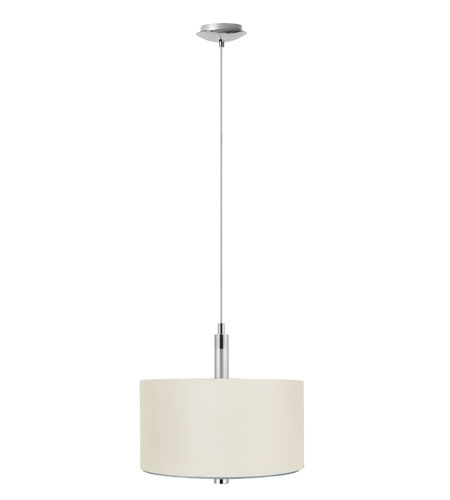 Eglo Halva 3 Light Pendant in Brushed Aluminum & Chrome 88562A photo