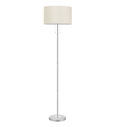 Eglo 88566A Halva 71 inch 60 watt Brushed Aluminum & Chrome Floor Lamp Portable Light photo