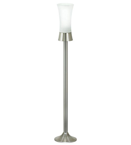 Wall Hugger Floor Lamp : Eglo 88728A Wall Street 42 inch 60 watt Stainless Steel Outdoor Floor Lamp