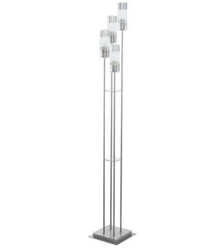 Eglo Alessa 4 Light Floor Lamp In Matte Nickel 88852a Photo