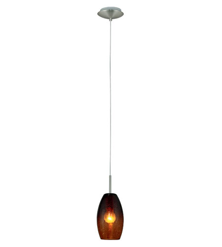 Eglo Batista 1 Light Mini Pendant in Matte Nickel 88947A photo