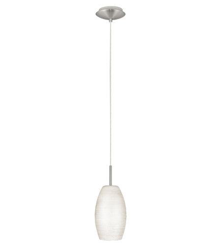 Eglo 88953A Batista 1 Light 5 inch Matte Nickel Mini Pendant Ceiling Light photo