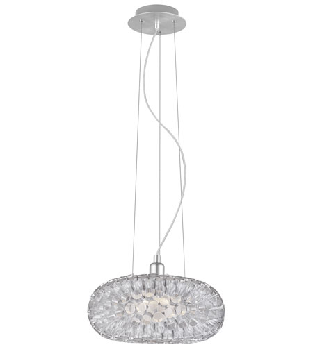 Eglo Lighting Rebell 1 Light Pendant in Aluminum 89063A photo