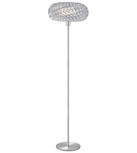Eglo Lighting Rebell 1 Light Floor Lamp in Aluminum 89067A photo