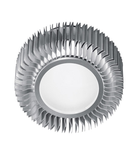 Eglo Lighting Chiron 1 Light Flush Mount in Aluminum 89119A photo