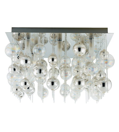 Eglo Morfeo 9 Light Wall Light in Chrome 89159A photo