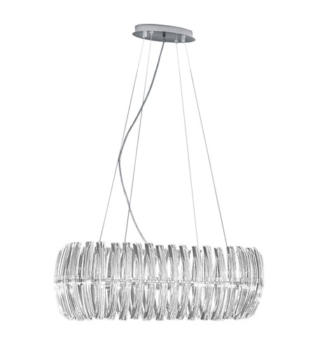 Eglo 89204A Drifter 8 Light 31 inch Chrome Chandelier Ceiling Light photo