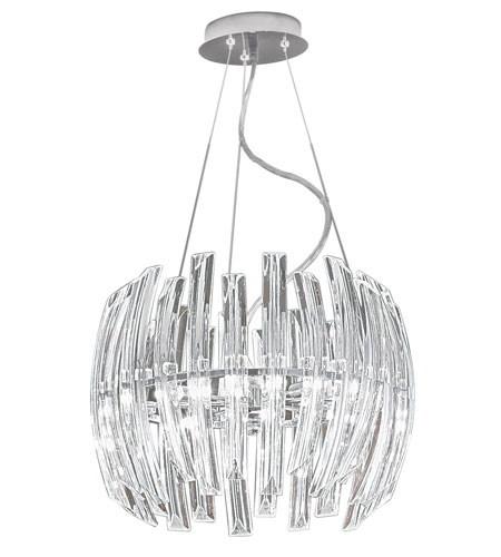 Eglo Lighting Drifter 6 Light Chandelier in Chrome 89205A photo
