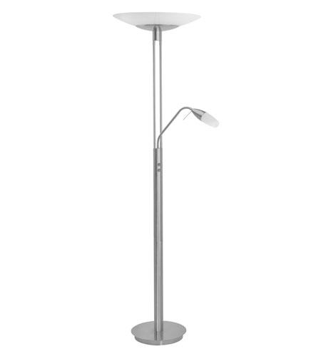 Eglo 89517A Turn 71 Inch 40 Watt Matte Nickel Floor Lamp Portable Light