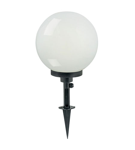 Eglo Terraluna 1 Light Outdoor Path Light in White Plastic 89581A photo